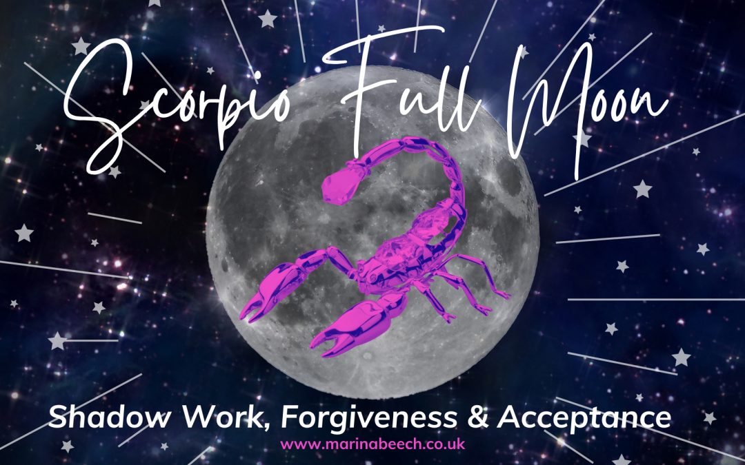 Scorpio Full Moon ♍️ Tuesday 27th April 2021 – 4.31 UK TIME