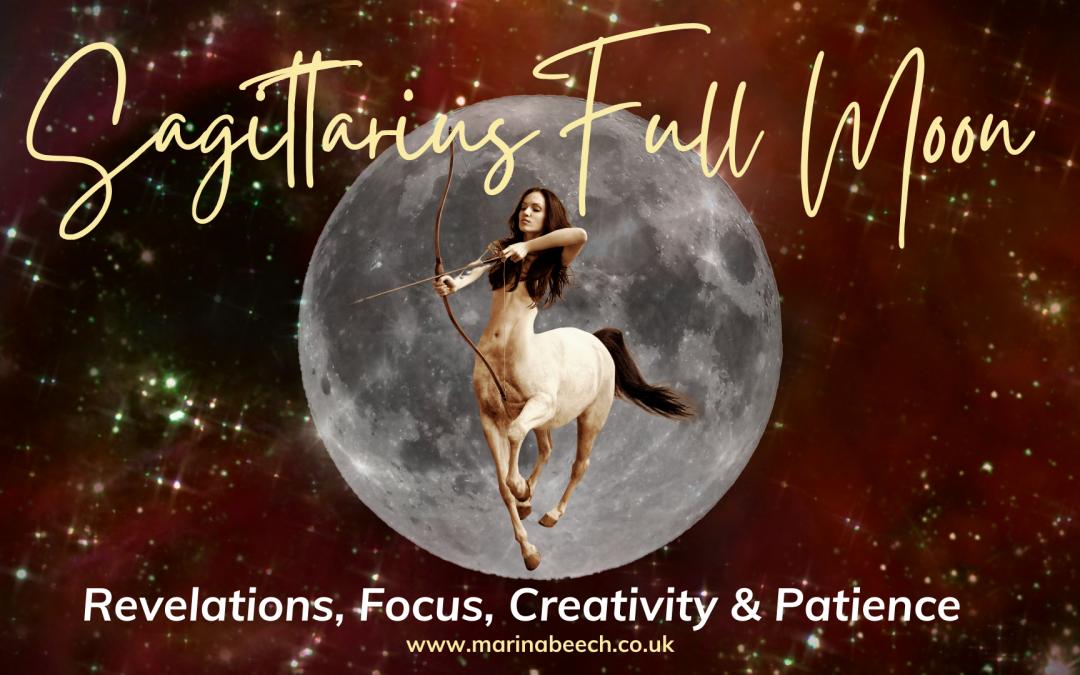 Sagittarius Full Moon ♐️ Wednesday 26th May 2021 – 12.13 UK TIME