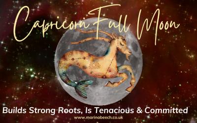 Capricorn Full Moon ♑️ Thursday 24th June 2021 – 18.39 UK TIME