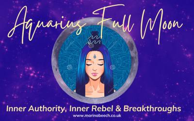 Aquarius Full Moon ♒️ Saturday 24th July 2021 – 02.36 UK TIME