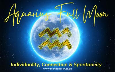 Aquarius Full Moon ♒️ Sunday 22nd August 2021 – 12.01 UK TIME