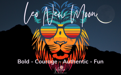 Leo New Moon ♌️ Sunday 8th August 2021 – 13.49 UK TIME